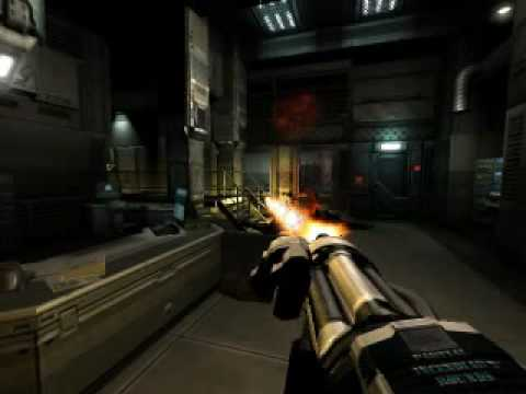 Doom 3 Mod Not For Sissies 2 Super Chaingun V2 Youtube