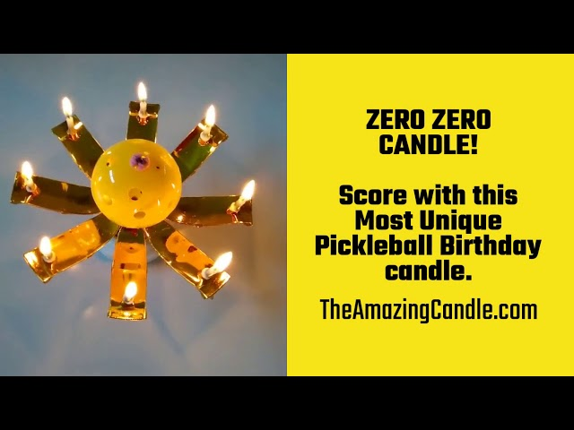 Check out our newest addition- the PICKLEBALL CANDLE!