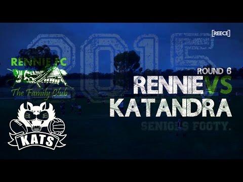 Round 6: Rennie vs Katandra - Seniors