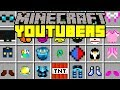 Minecraft YOUTUBERS MOD! | DANTDM, POPULARMMOS, 50+ YOUTUBERS, & MORE! | Modded Mini-Game