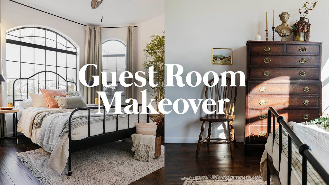 Redoing My WORST Room Makeover ✨ Guest Bedroom Transformation! (From Start to Finish)