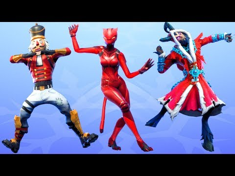 Fortnite All Dances Season 1-7 Updated to Clean Groove