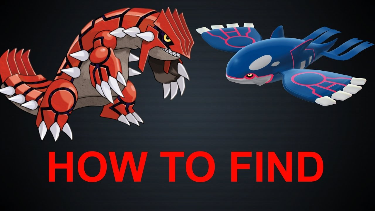 Project pokemon how to find groudon and kyogre easily youtube - Pictures of groudon and kyogre ...
