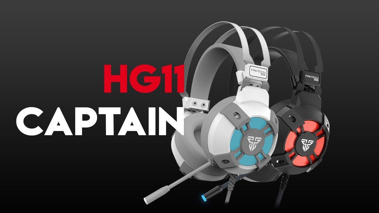 HG11 CAPTAIN 7.1 Surround Sound Gaming Headset