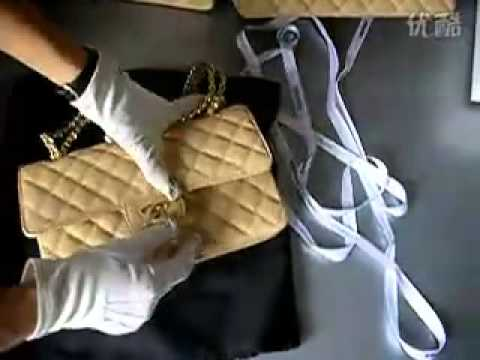 90fd5dcee89a Chanel 2012 Lambskin Chain Jumbo Double Flap Shoulder Bag Apricot(Golden  hardware)