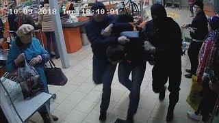 Таджики-рюкзачники подняли супермаркеты на миллионы. Real video