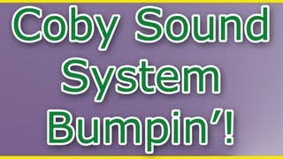 my coby cs mp77 computer subwoofer sound system bumpin
