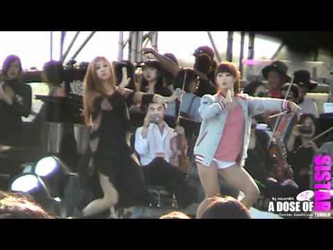 [HD][Fancam] 111009 SISTAR - So Cool (Rehearsal) @ KBS Open Concert Korean Festival in NY/NJ