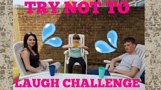 Try Not To Laugh Challenge (With Water) /