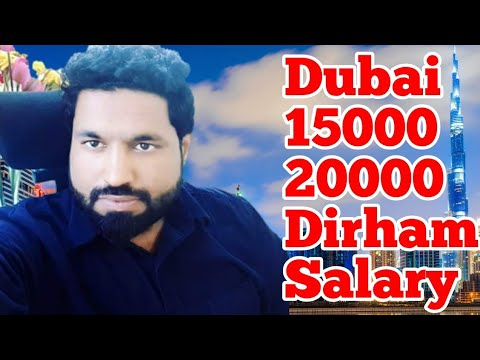 Jobs In Dubai || 15000 to 20000 Dirham Salary | Free Visa Dubai Jobs / Dubai Jobs