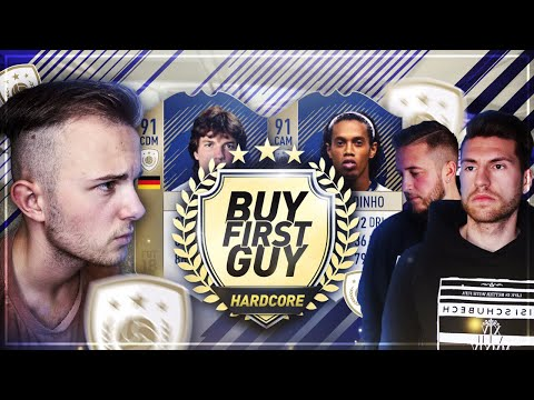 FIFA 18: ICON SPECIAL Hardcore Buy First Guy vs TisiSchubech 😱😱