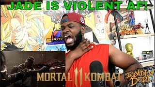 Mortal Kombat 11 - Jade Reveal Trailer (REACTION)
