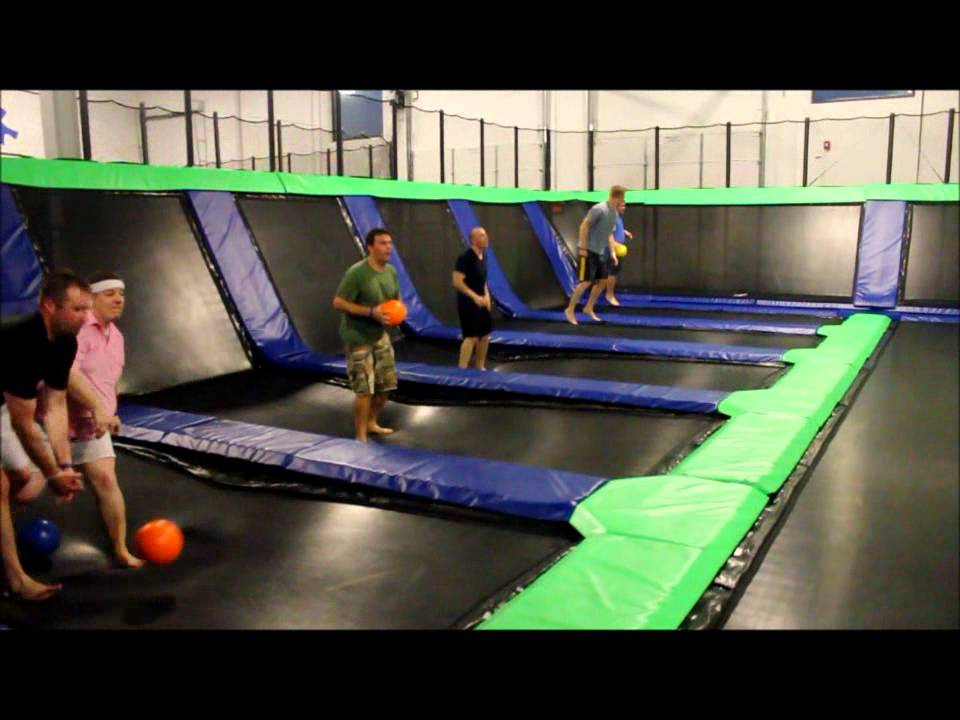 epic air trampoline park dodgeball youtube. Black Bedroom Furniture Sets. Home Design Ideas