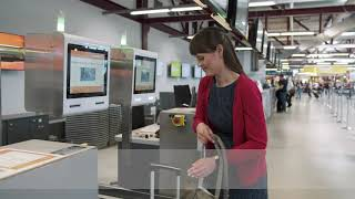 Automated Bag Drop at Tegel Airport