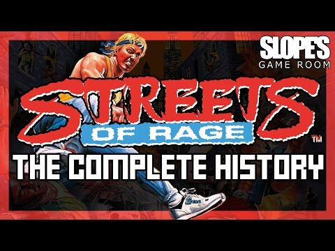 Streets Of Rage. The Complete History - SGR