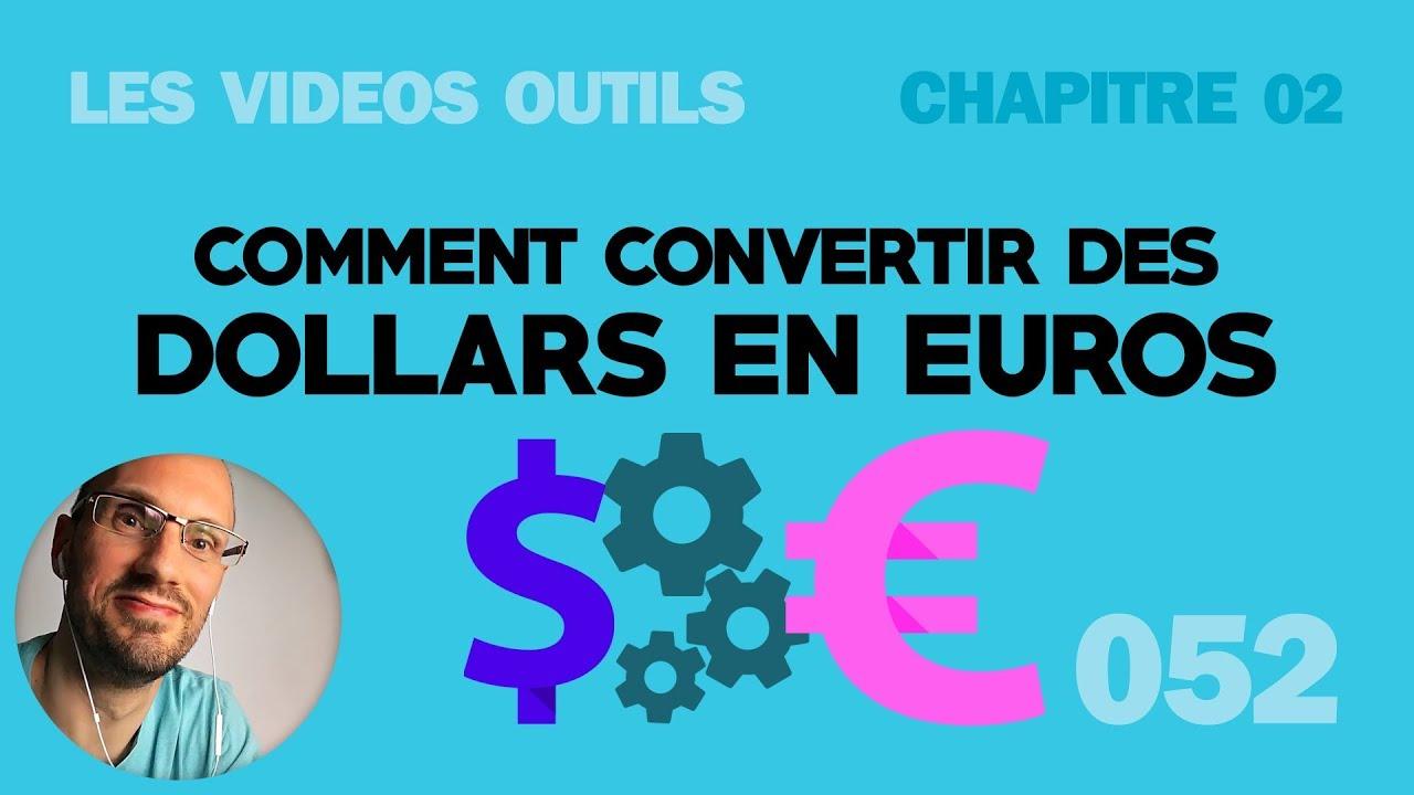 Comment Convertir Des Dollars En Euros Sur Paypal
