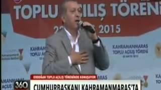 Cumhurbaşkanı Erdoğan Kahramanmaraş Tarihinin En kalabalık Mitinginde Konuştu