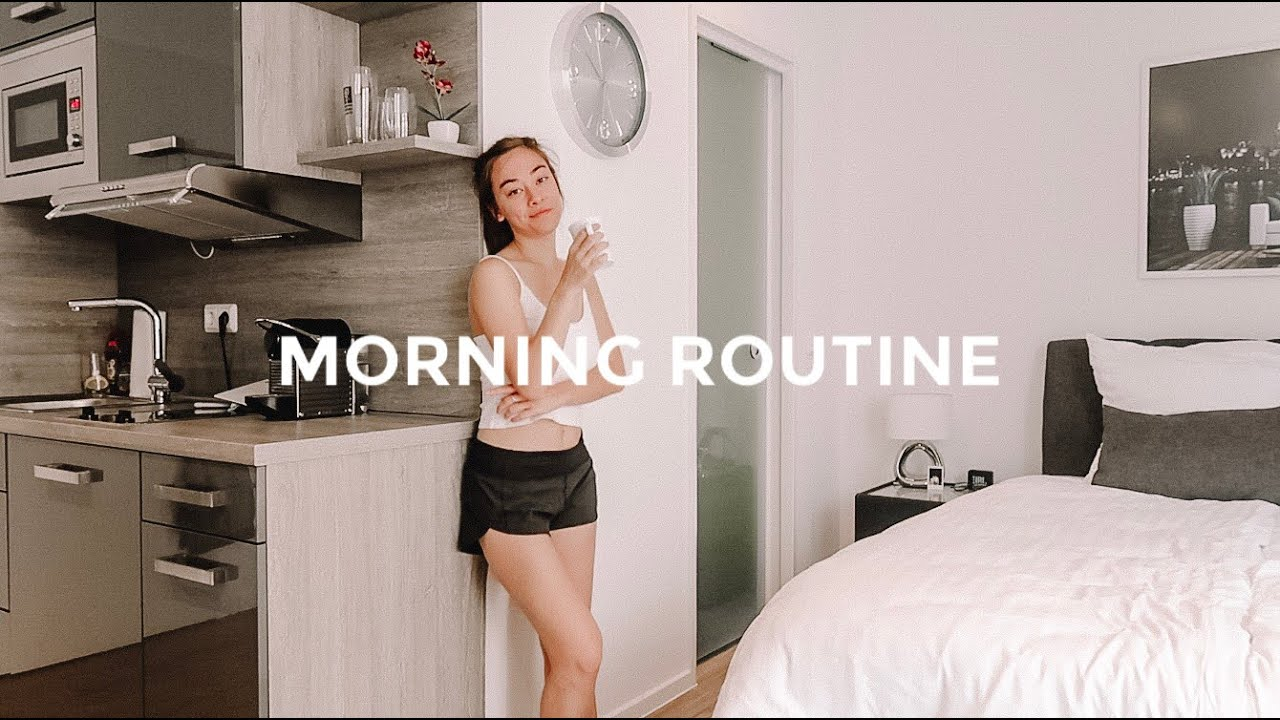 College Morning Routine in GERMANY