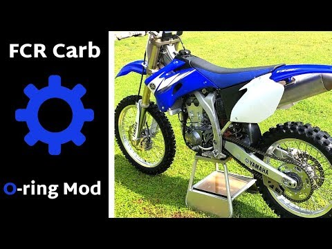2006 YZ450F FCR Carb O-ring Mod........ Fixing the Bog issue!