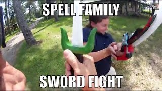 Video How to Win A  Spell Family Sword Fight on the Bayou download MP3, 3GP, MP4, WEBM, AVI, FLV Juni 2018