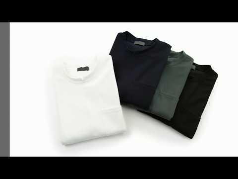 아이유즈 슬릿 포인트 라운드 반팔 티셔츠 A202TSHNZCM024