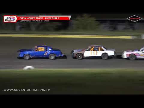 Hobby Stock/Stock Car B Features - US 30 Speedway - 9/13/19