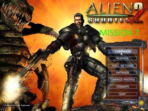 Alien Shooter 2: Reloaded Walkthrough Mission 7 With Secrets |