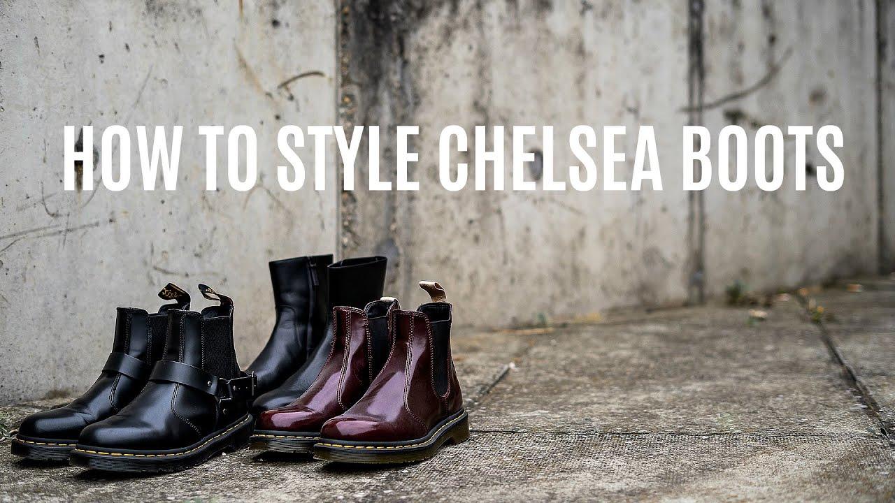 doc martin chelsea boots mens