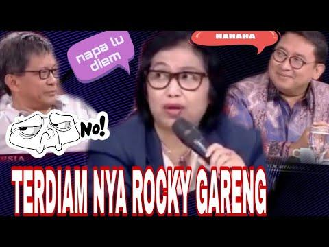 Tak berdaya rocky gerung di ILC TV ONE ,irma suryani marah,KEMBALI  MEGA VERSUS SBY