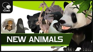 Mobile Animal Game, Wild Animals Online - New Animals Released