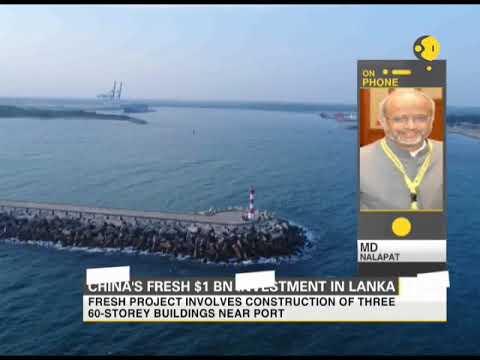 China's fresh $1 billion investment in Sri Lanka