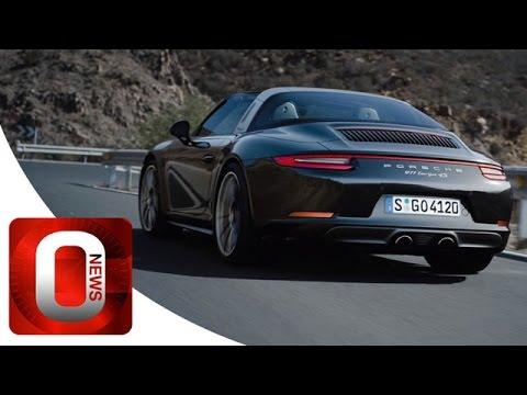 2016 Porsche 911 Targa 4 & 4S • Official Launch Film [HD] (Option Auto News)