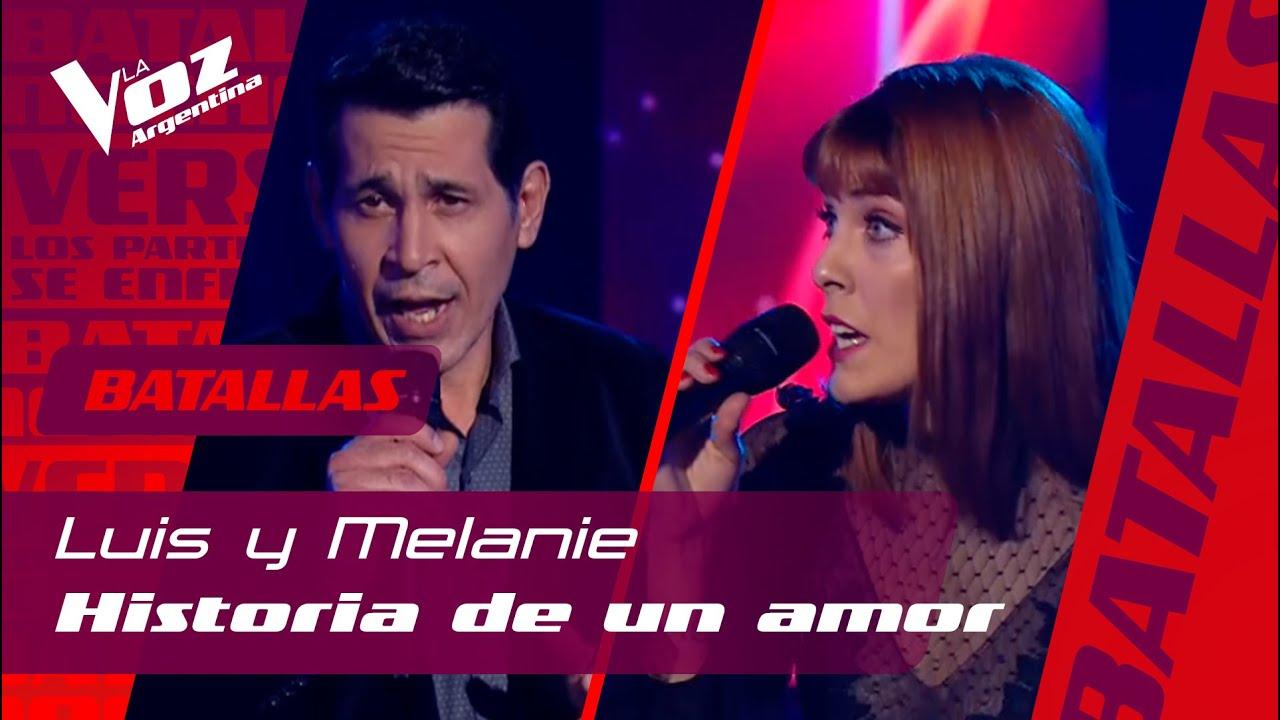 """Download Luis Campos vs. Melanie Vargas - """"Historia de un amor"""" – Batallas – La Voz Argentina"""