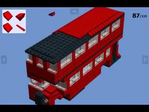 Lego Double Decker Bus Instructions Full Size Youtube
