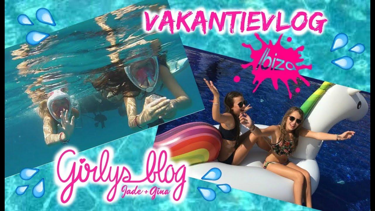 VAKANTIEVLOG OP IBIZA EN FORMENTERA!GIRLYS BLOG