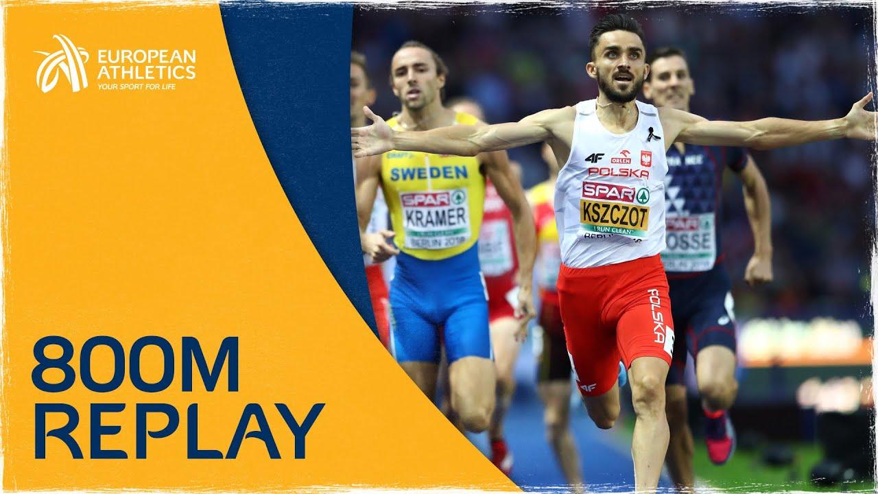 Men's 800m Final | Berlin 2018