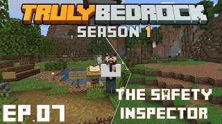 Truly Bedrock S1 E7 Inspector Prowl to the rescue, and starting a huge project