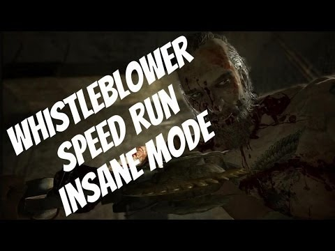 Outlast: Whistleblower Speed run 49 minutes [INSANE mode]