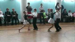 Конкурс детский (спортивные бальные танцы)