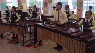 香港學生輔助會小學HKSASPS 敲擊樂團 Marching