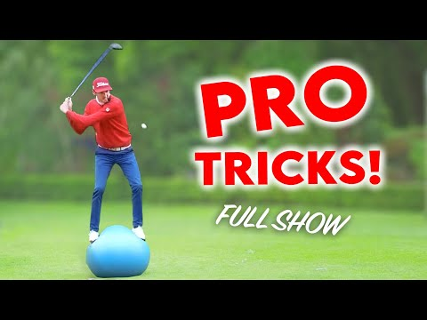 AWESOME AND FUNNY UNCUT GOLF TRICK SHOT SHOW!
