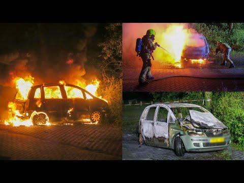 Wederom auto uitgebrand op parkeerplaats Geversduin in Castricum | 21/06/2021