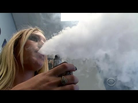 Federal government bans e-cig sales to minors