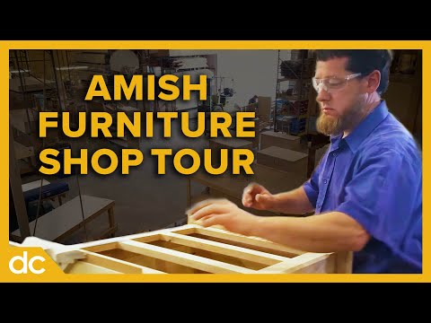 Inside An Amish Furniture Woodworking Tour Millcraft 2018