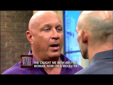 Steve Stands Up To A Molester!!! (The Steve Wilkos Show)