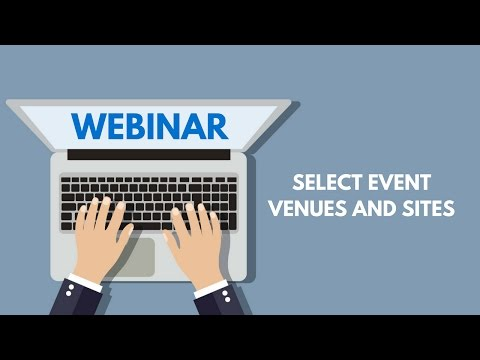 Select event venues and sites