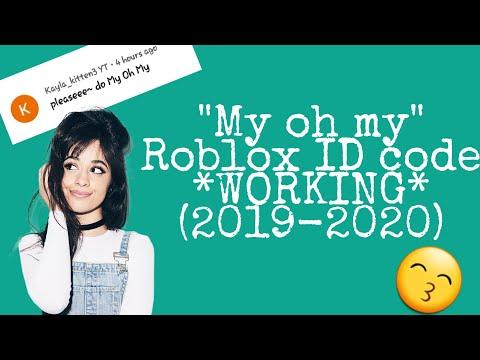 Roblox Music Code My Oh My Nightcore Camila Cabello Ft Dababy