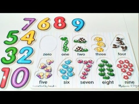 Learn to Count Numbers 0-9 | Numbers Counting For Babies, Toddlers | Preschool Learning