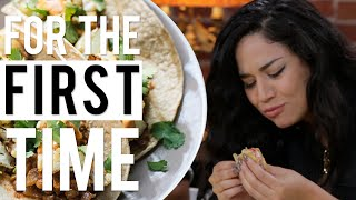 Mexicans Try Vegan Mexican Food 'For the First Time'