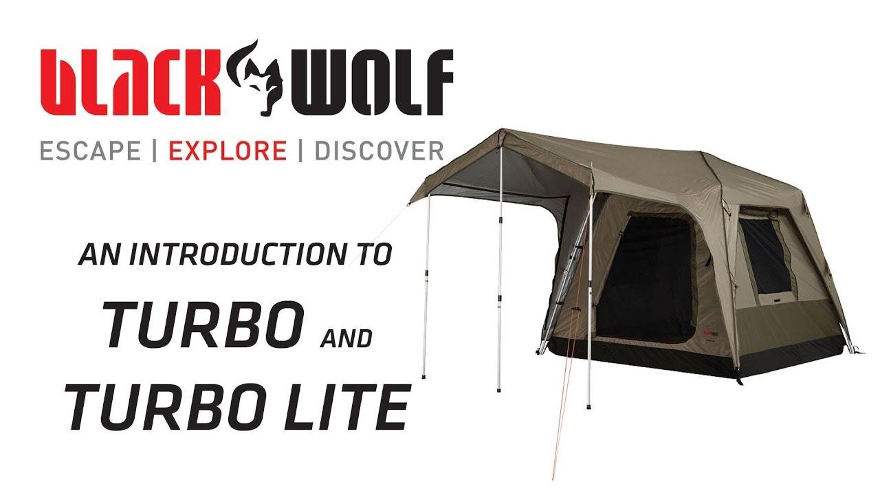 sc 1 st  YouTube & BlackWolf Turbo and Turbo Lite Tents - YouTube